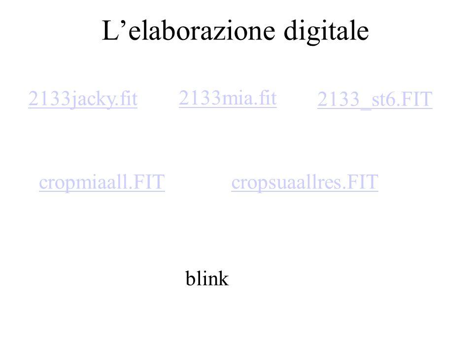 L'elaborazione digitale