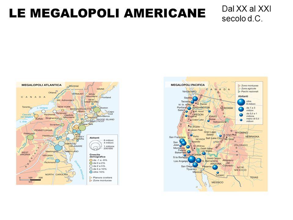 LE MEGALOPOLI AMERICANE
