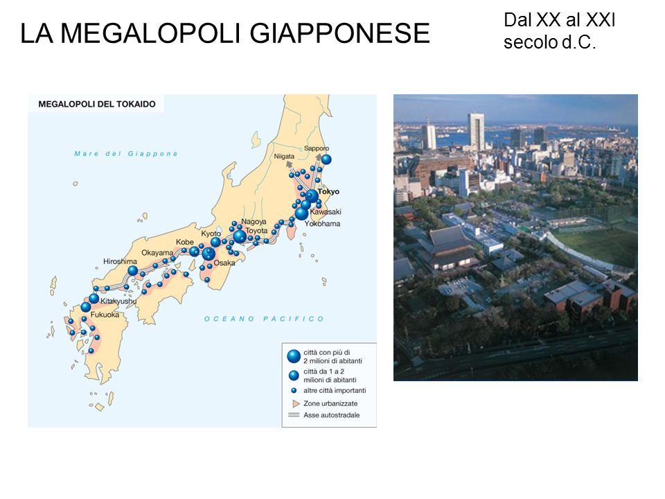 LA MEGALOPOLI GIAPPONESE