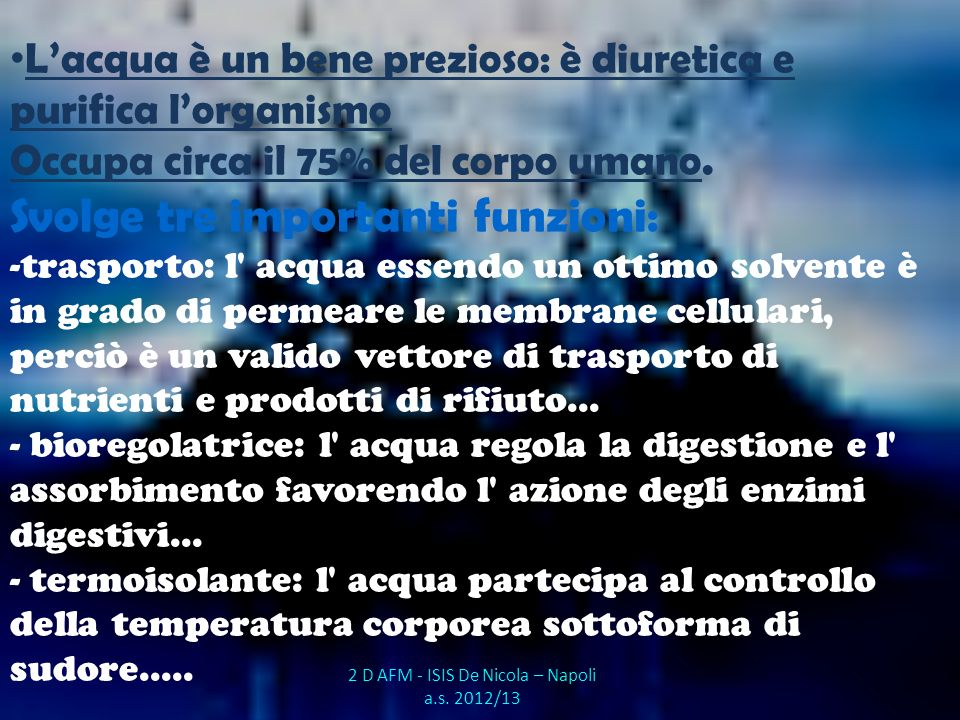 2 D AFM - ISIS De Nicola – Napoli a.s. 2012/13
