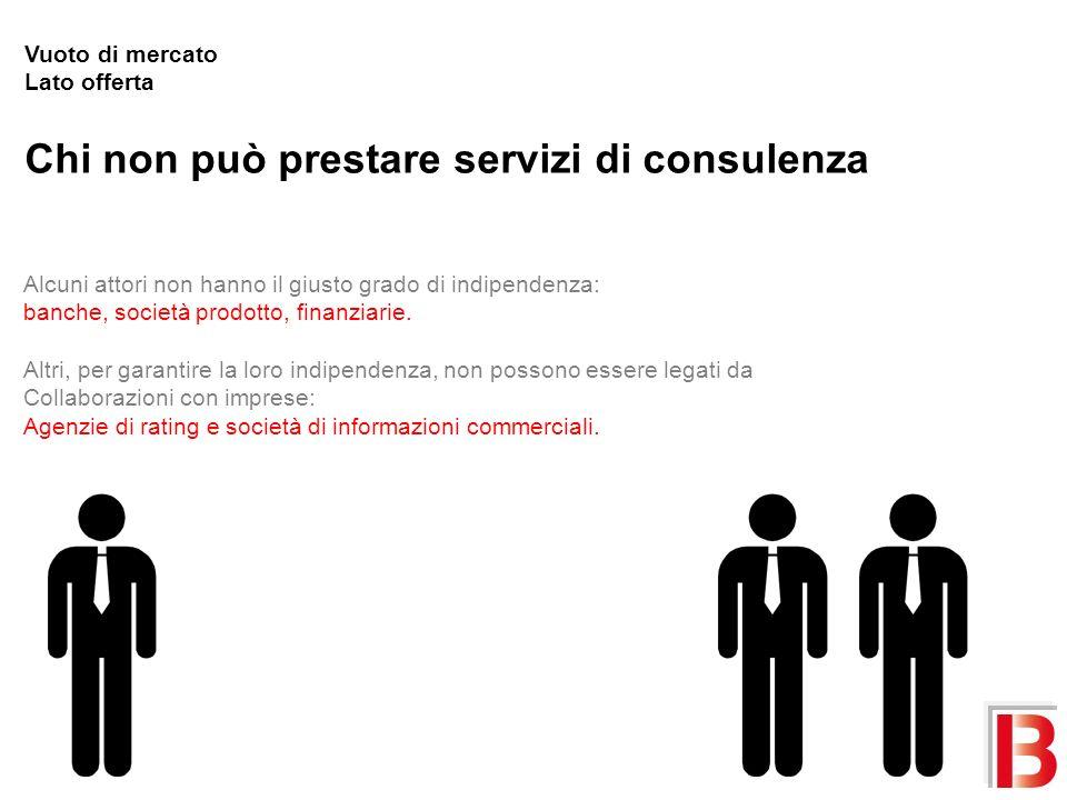 Chi non può prestare servizi di consulenza