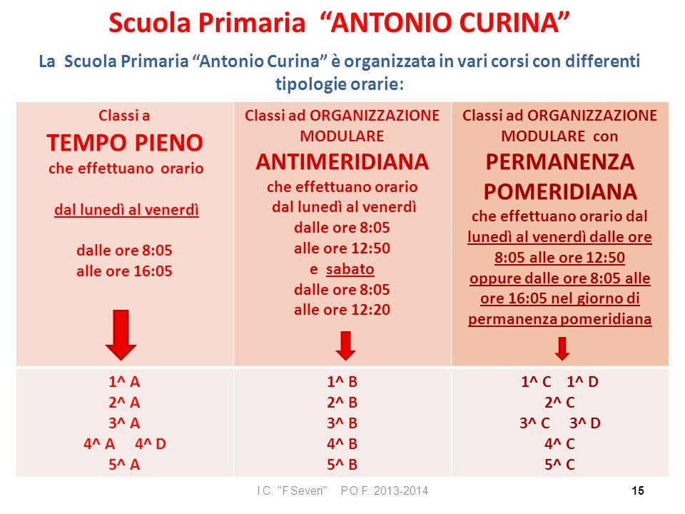 Scuola Primaria ANTONIO CURINA