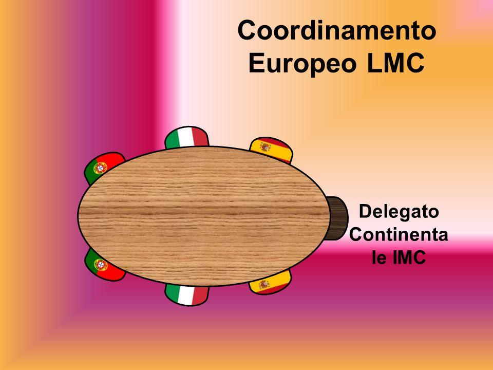 Coordinamento Europeo LMC Delegato Continentale IMC