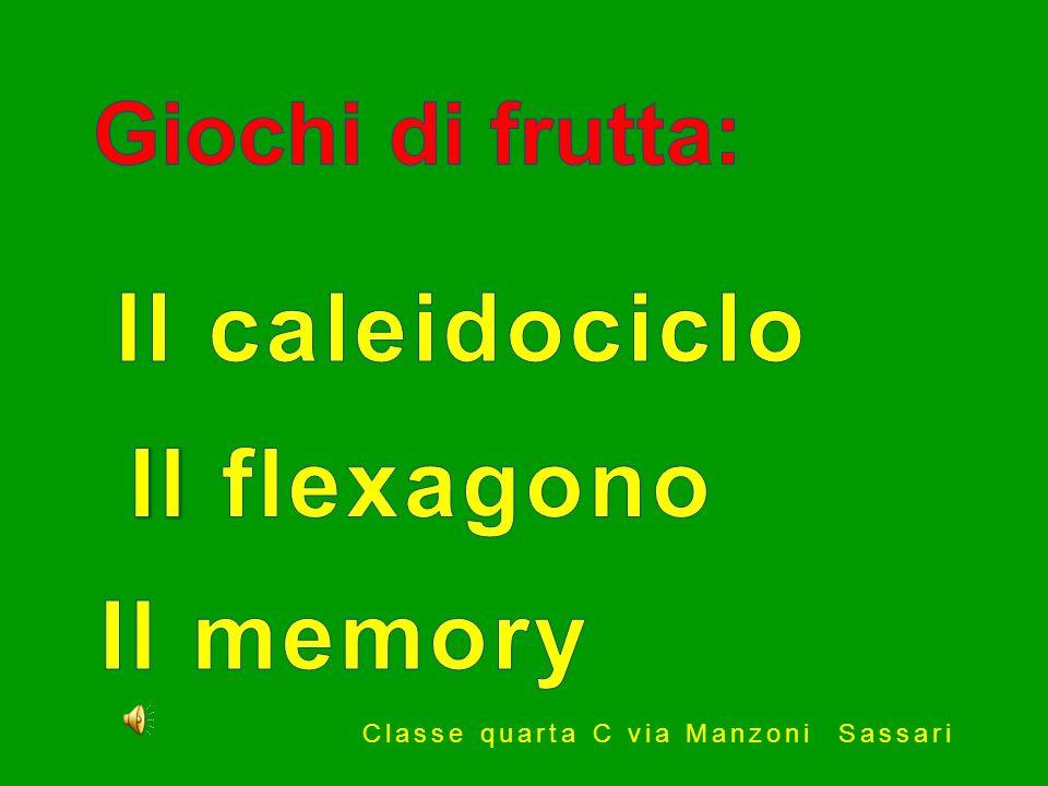 Il caleidociclo Il flexagono Il memory