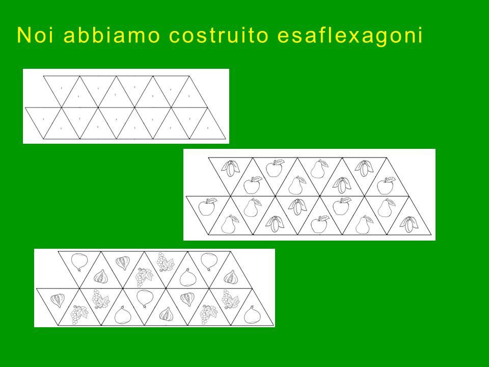 Noi abbiamo costruito esaflexagoni