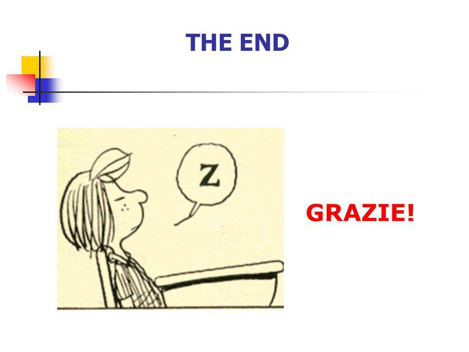 THE END GRAZIE! 104