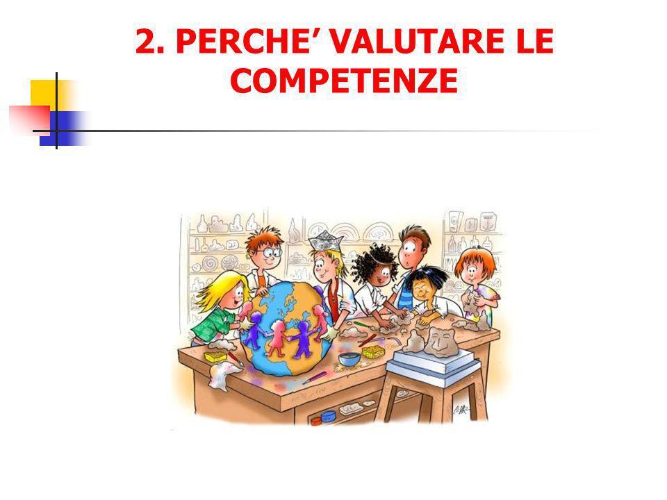 2. PERCHE' VALUTARE LE COMPETENZE