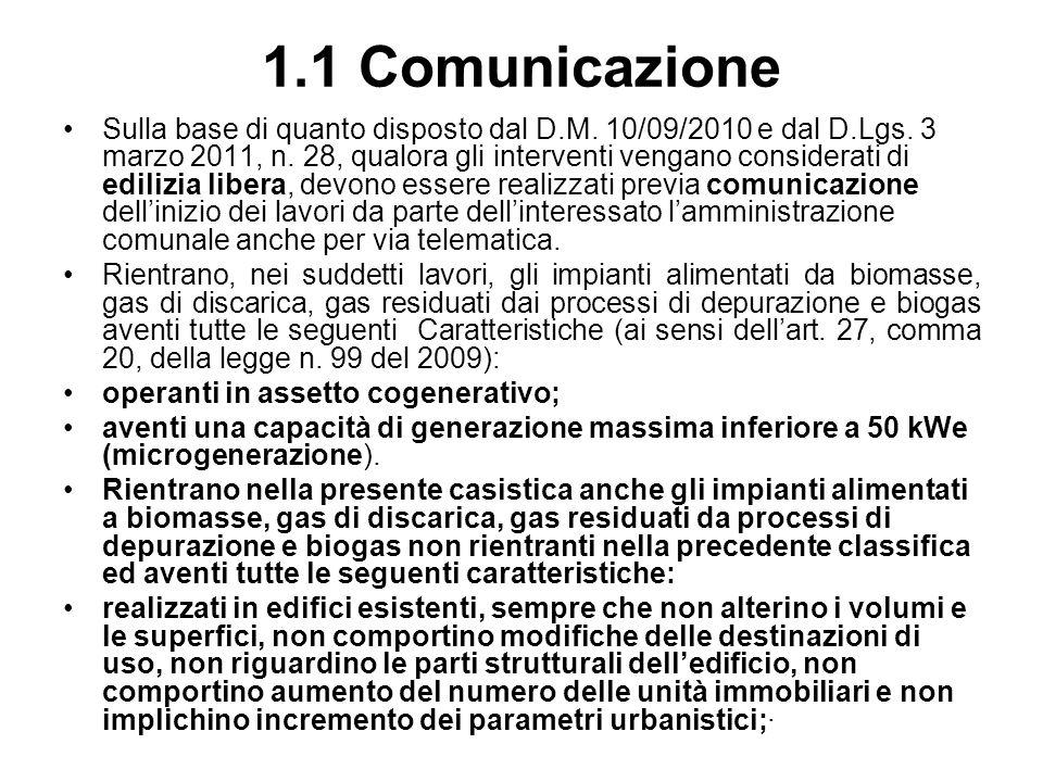 1.1 Comunicazione