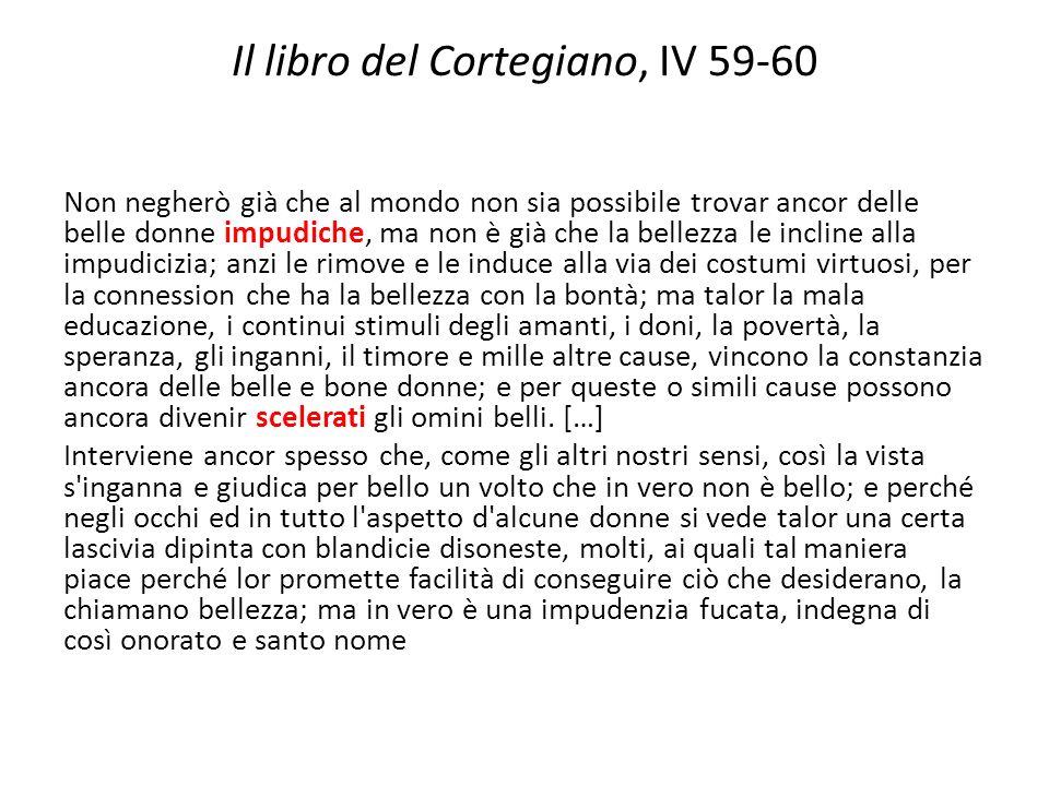 Il libro del Cortegiano, IV 59-60