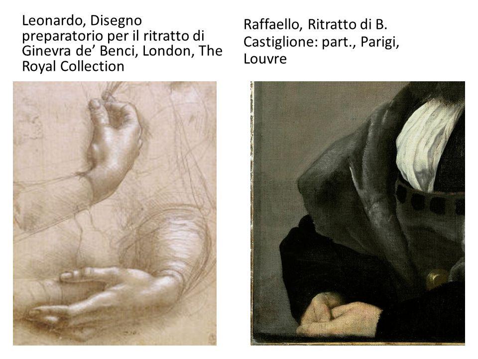 Leonardo, Disegno preparatorio per il ritratto di Ginevra de' Benci, London, The Royal Collection