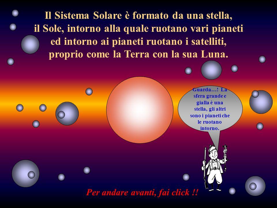 Il Sistema Solare è formato da una stella,