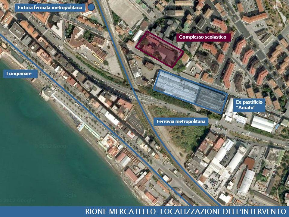 RIONE MERCATELLO: LOCALIZZAZIONE DELL'INTERVENTO