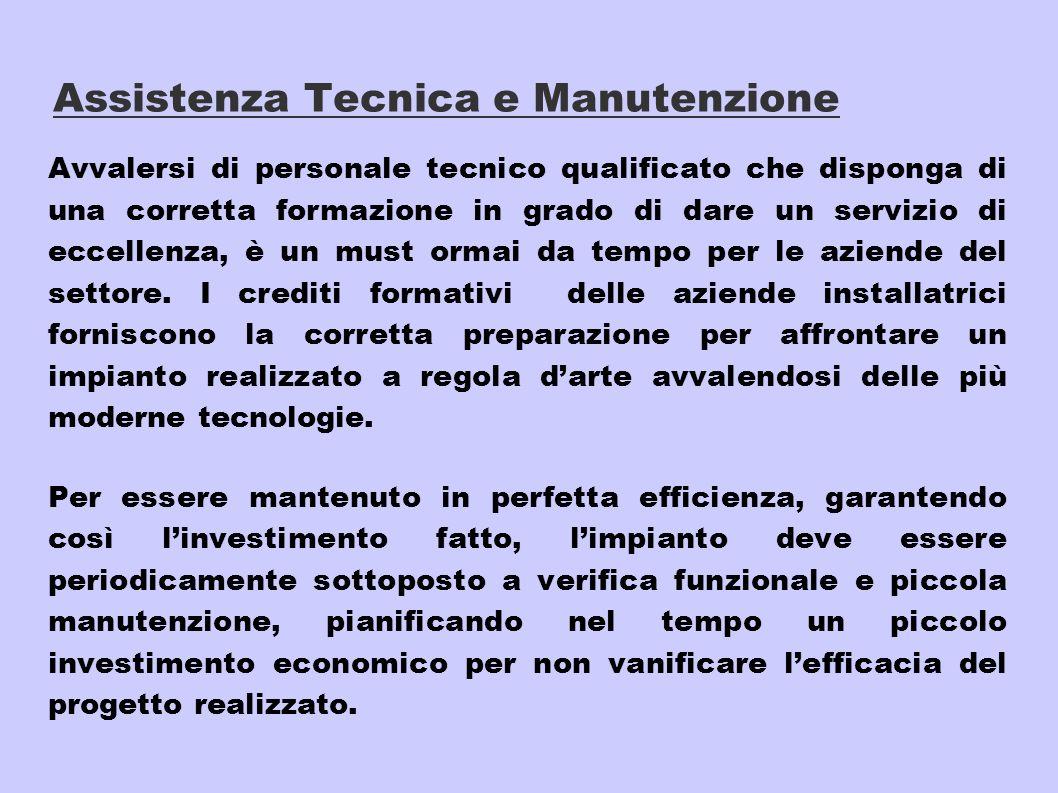 Assistenza Tecnica e Manutenzione
