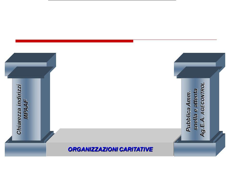 ORGANIZZAZIONI CARITATIVE