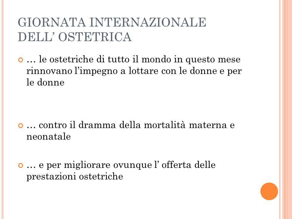 GIORNATA INTERNAZIONALE DELL' OSTETRICA