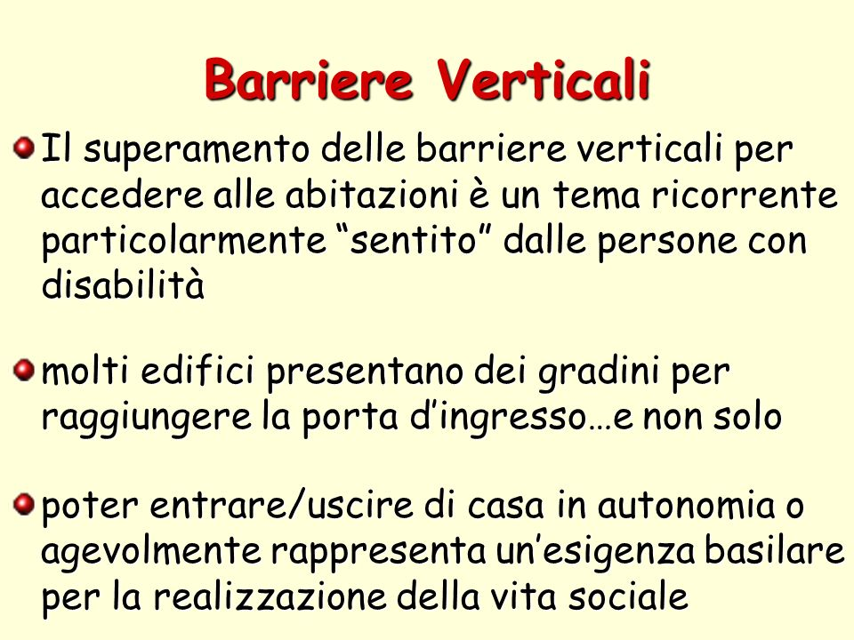 Barriere Verticali