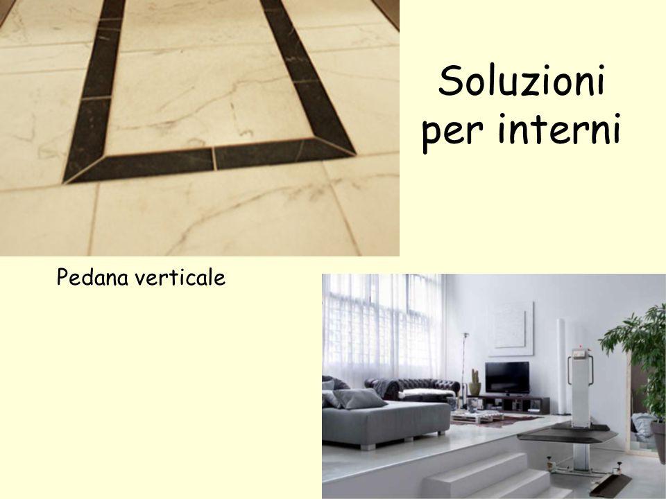 Soluzioni per interni Pedana verticale