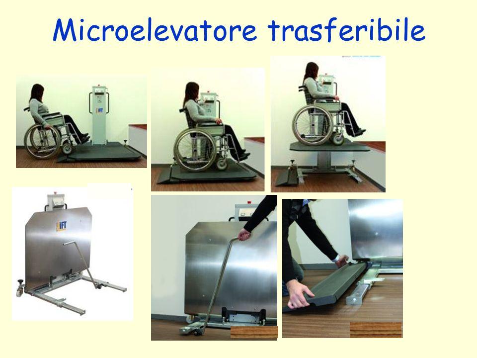 Microelevatore trasferibile