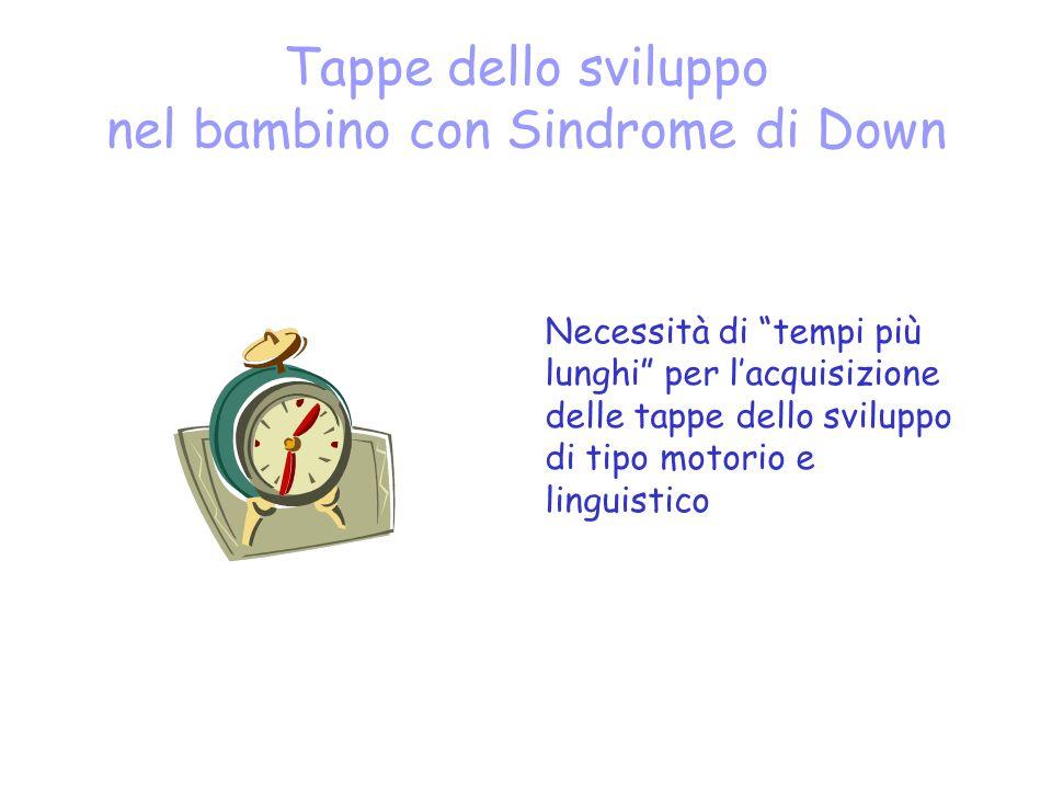 Tappe dello sviluppo nel bambino con Sindrome di Down