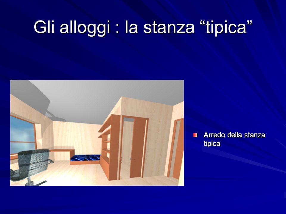 Gli alloggi : la stanza tipica