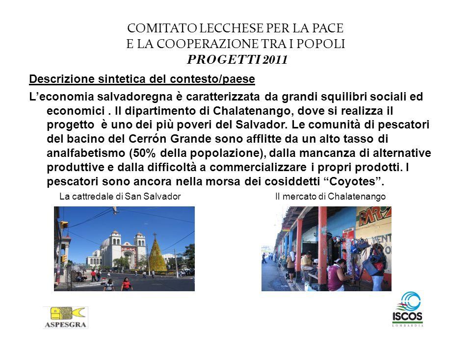 COMITATO LECCHESE PER LA PACE E LA COOPERAZIONE TRA I POPOLI PROGETTI 2011