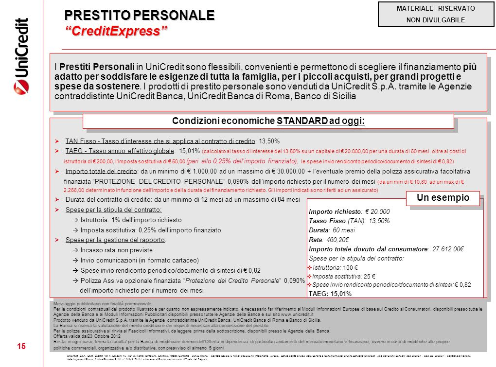 PRESTITO PERSONALE CreditExpress