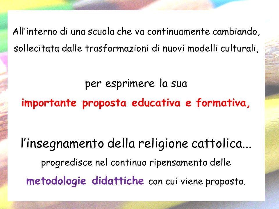 importante proposta educativa e formativa,