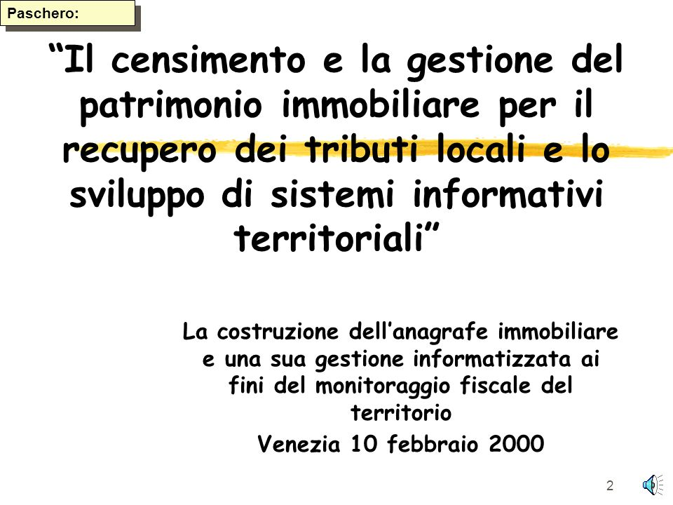 Paschero: