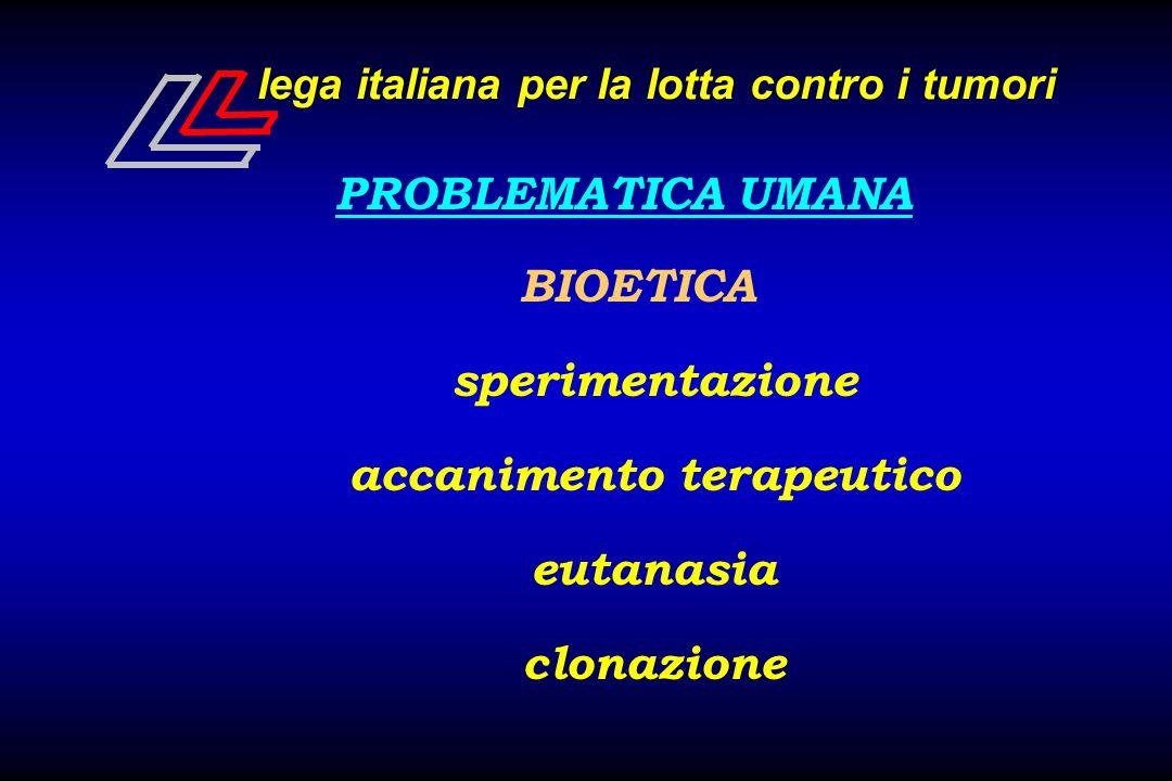 lega italiana per la lotta contro i tumori