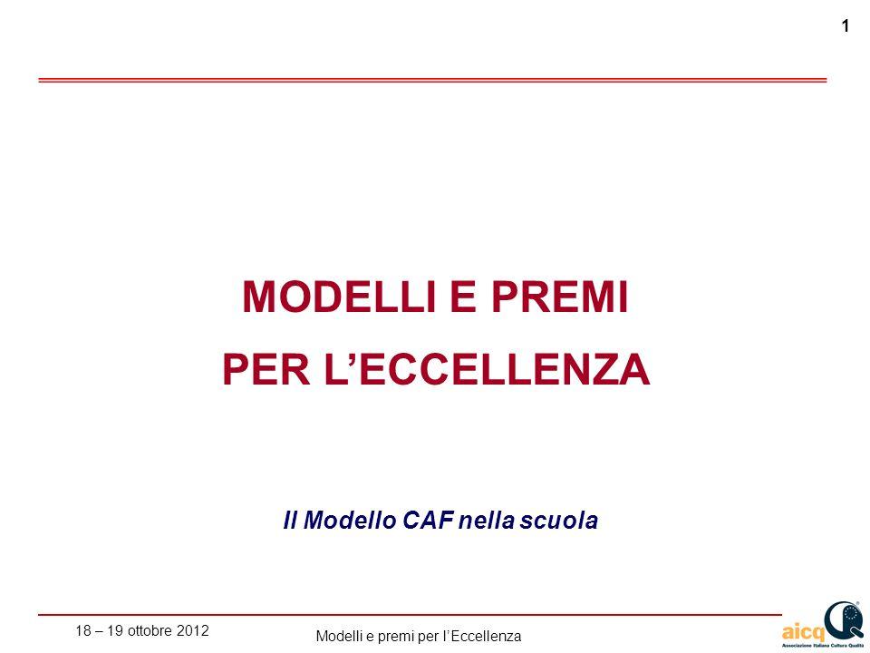 Il Modello CAF nella scuola