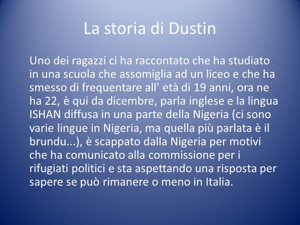 La storia di Dustin