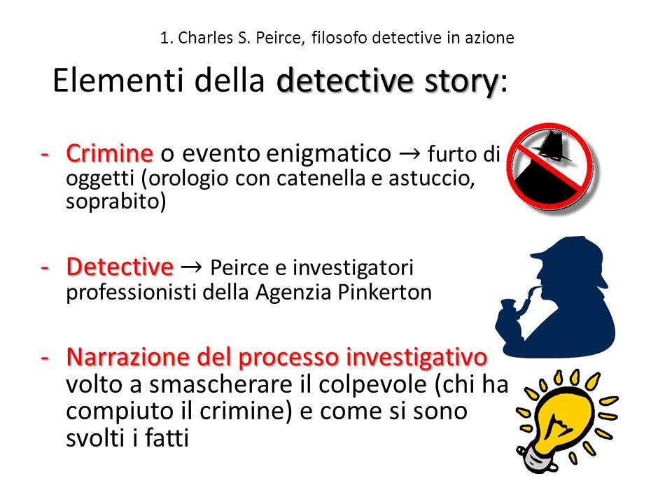 1. Charles S. Peirce, filosofo detective in azione