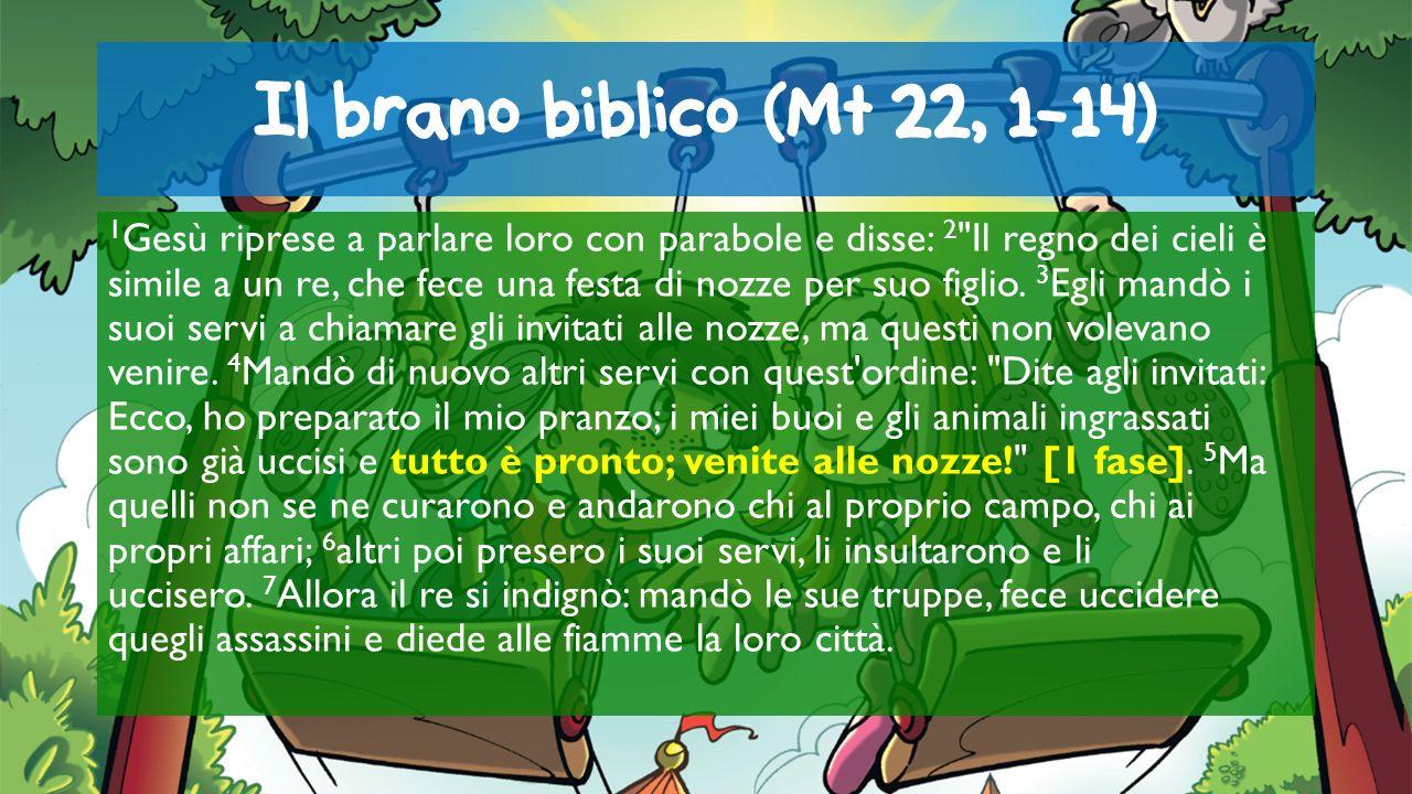 Il brano biblico (Mt 22, 1-14)