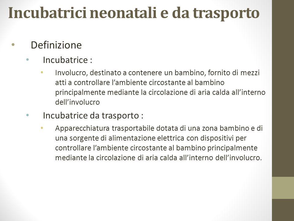 Incubatrici neonatali e da trasporto