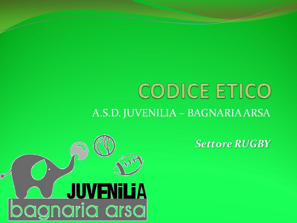 A.S.D. JUVENILIA – BAGNARIA ARSA Settore RUGBY