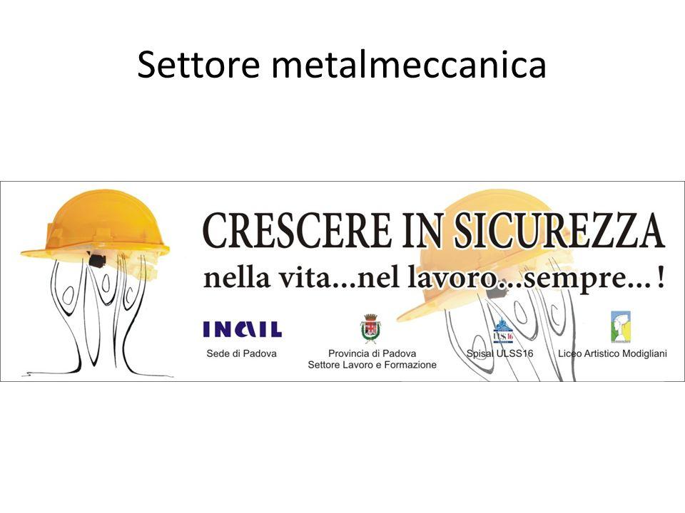 Settore metalmeccanica
