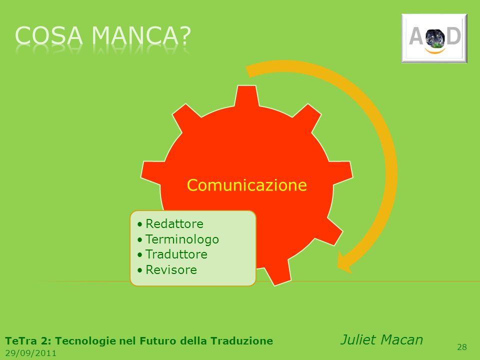 TeTra 2: Tecnologie nel Futuro della Traduzione