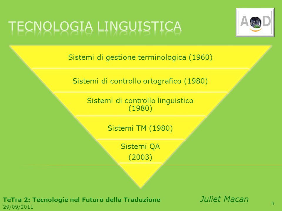 TECNOLOGIA linguistica