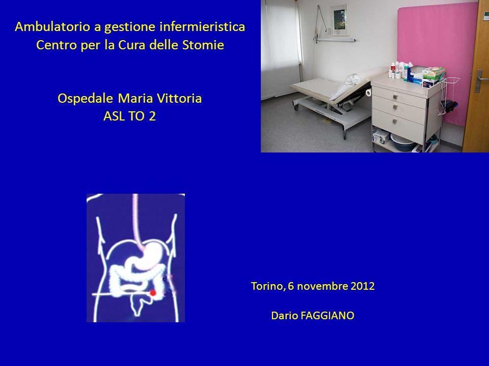 Ambulatorio a gestione infermieristica Centro per la Cura delle Stomie