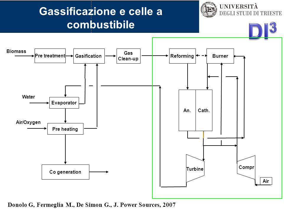 Gassificazione e celle a combustibile