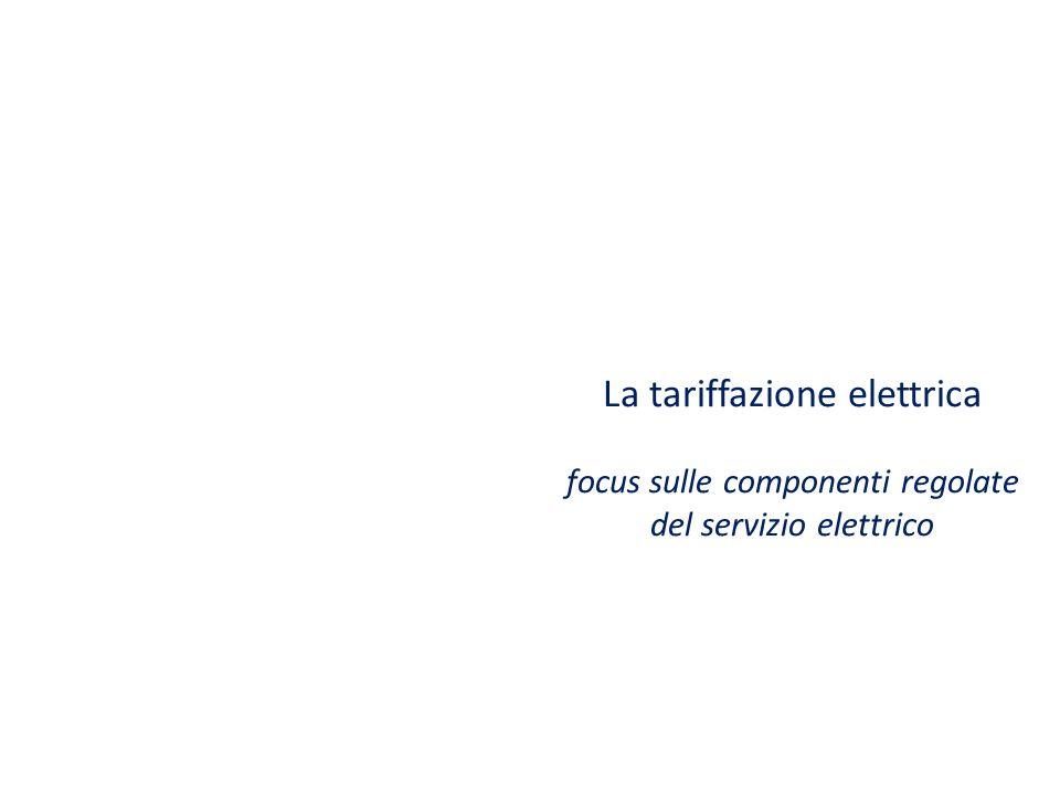 La tariffazione elettrica