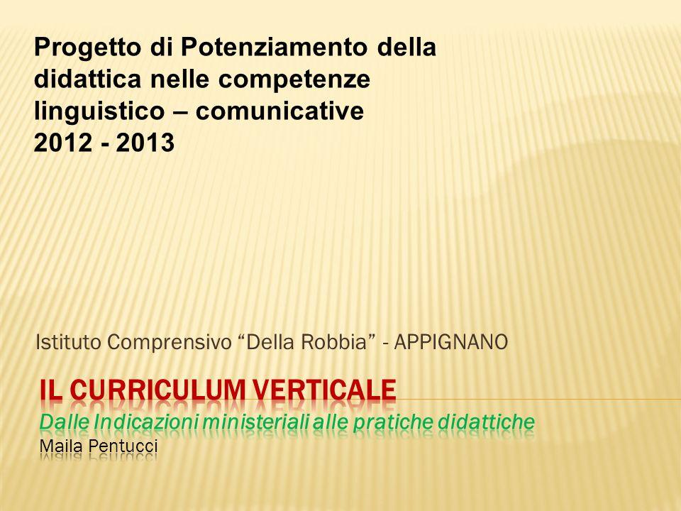 Istituto Comprensivo Della Robbia - APPIGNANO