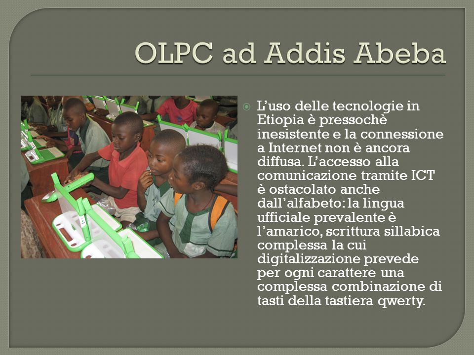 OLPC ad Addis Abeba