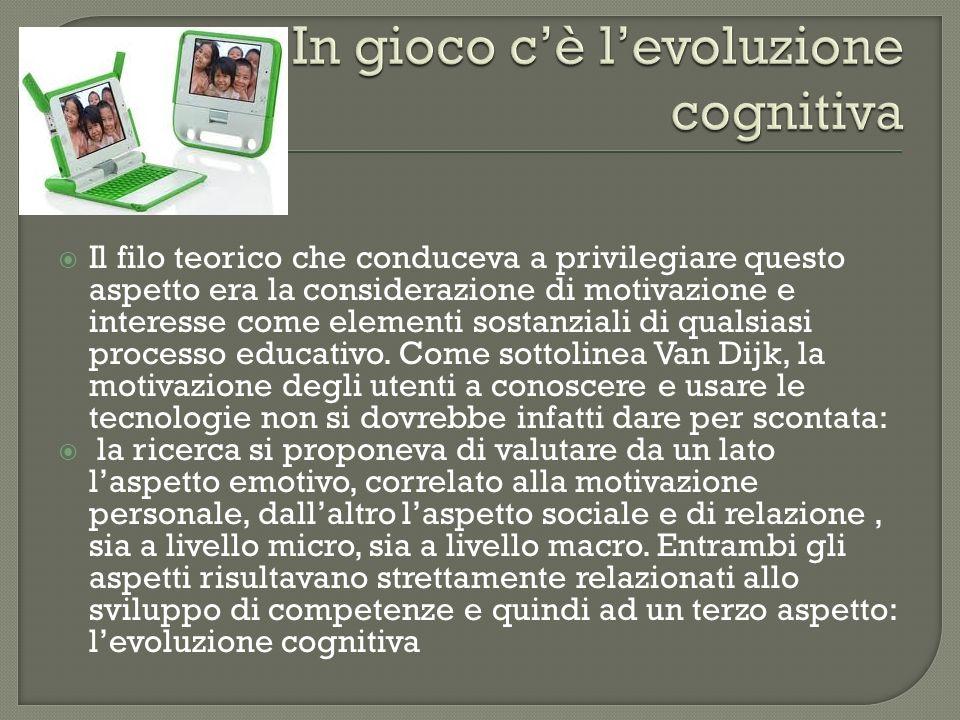 In gioco c'è l'evoluzione cognitiva