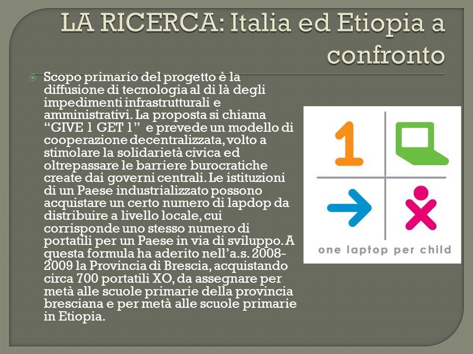 LA RICERCA: Italia ed Etiopia a confronto