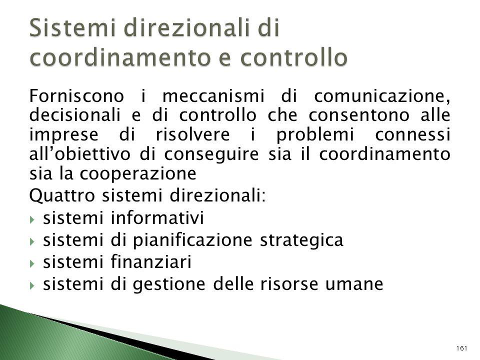 Sistemi direzionali di coordinamento e controllo
