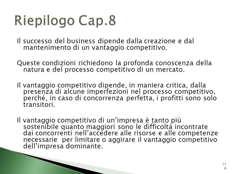 Riepilogo Cap.8