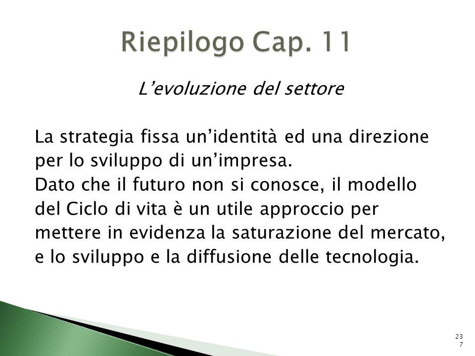 Riepilogo Cap. 11