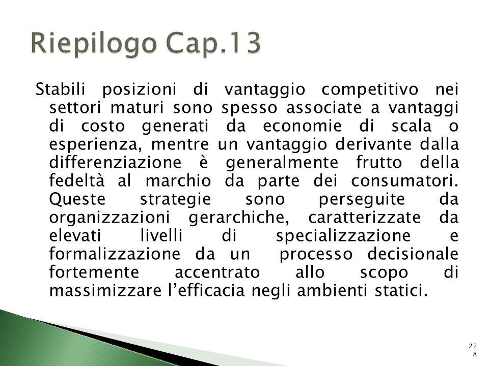 Riepilogo Cap.13