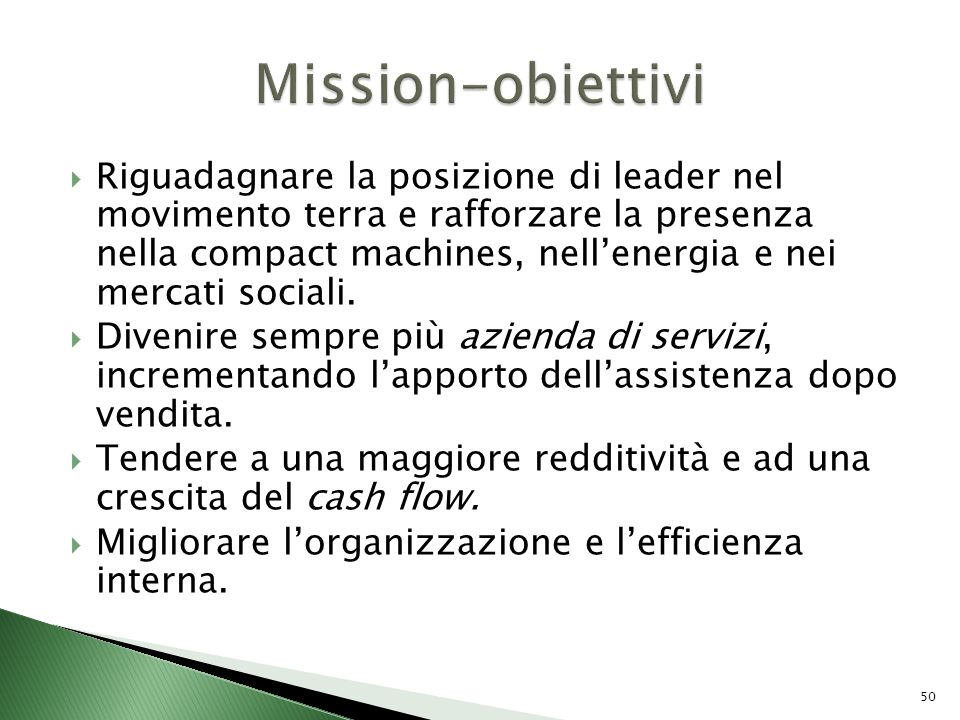 Mission-obiettivi